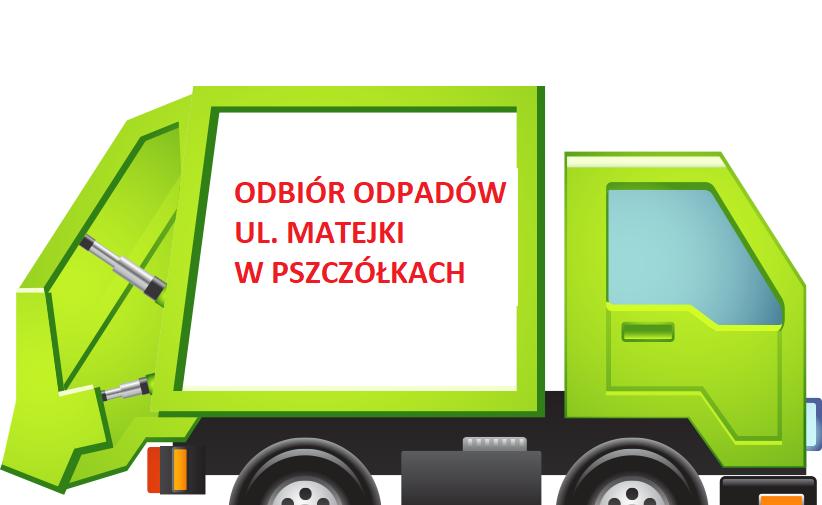 Odbiór odpadów ul. Matejki