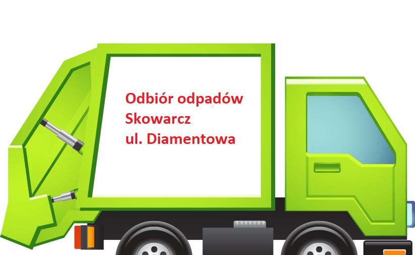 Odbiór odpadów Skowarcz ul. Diamentowa
