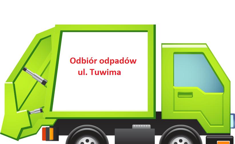 Odbiór odpadów ul. Tuwima